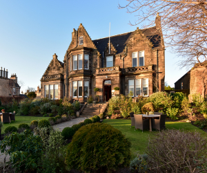 Luxury UK staycations summer 2021 –Dunstane House, Edinburgh
